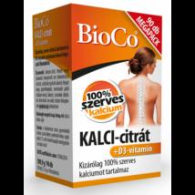 BioCo KALCI-citrát+D3-vitamin MEGAPACK 90 db