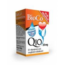 BioCo Vízzel elegyedő Q10 20 mg B1-vitaminnal 90 db