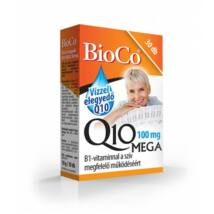 BioCo Vízzel elegyedő Q10 MEGA 100 mg B1-vitaminnal 30 db