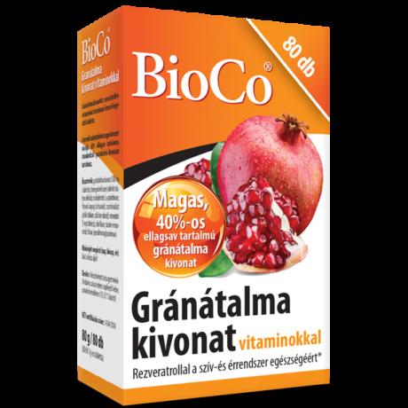 BioCo Gránátalma kivonat vitaminokkal 80 db