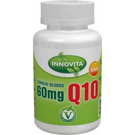 Innovita 60mg zsírban oldódó Q10 60 db