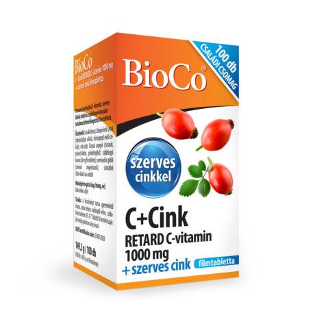 BioCo C+Cink 100 db CSALÁDI CSOMAG