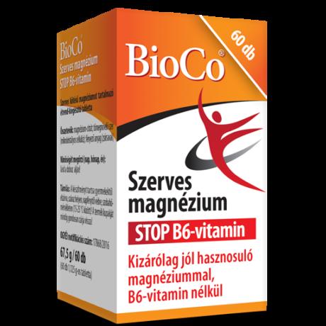 BioCo szerves Magnézium STOP B6 60 db