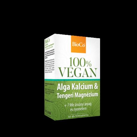 BioCo 100% VEGAN Alga Kalcium & Tengeri Magnézium 60 db