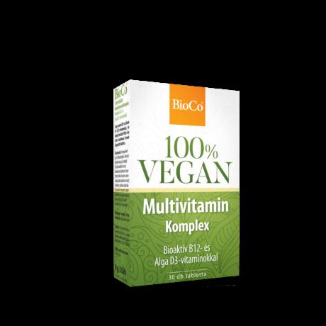 BioCo 100% VEGAN Multivitamin Komplex 30 db