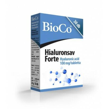 BioCo Hialuronsav Forte 30 db