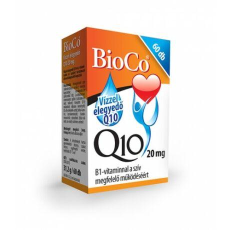 BioCo Vízzel elegyedő Q10 20 mg B1-vitaminnal 60 db