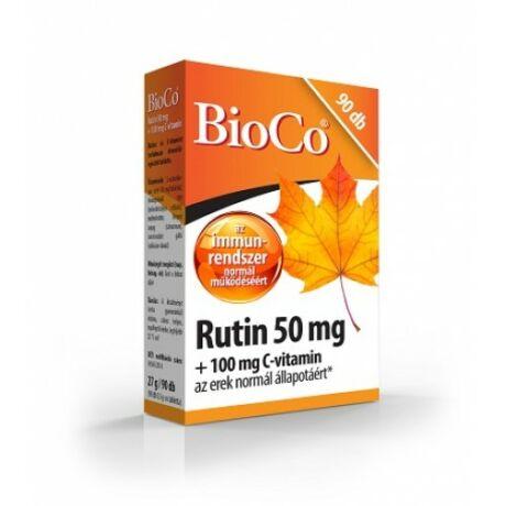 BioCo Rutin 50 mg+100 mg C-vitamin 90 db