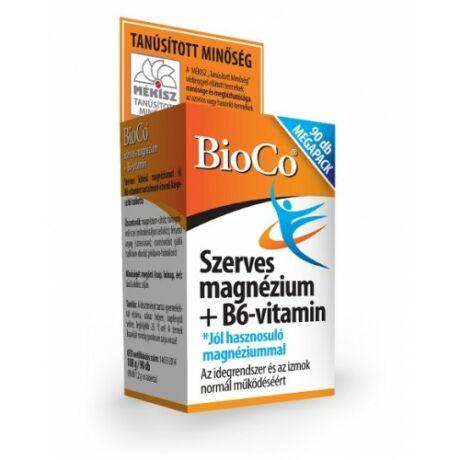 BioCo Szerves Magnézium+B6-vitamin Megapack 90 db