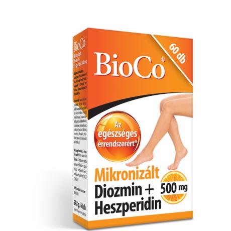 BioCo Mikronizált Diozmin+Heszperidin 60 db