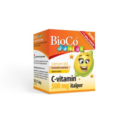 C-vitamin JUNIOR italpor 500 mg