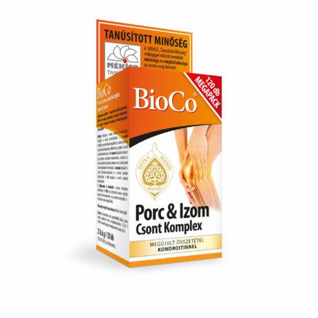 BioCo Porc Izom Csont Komplex 120 db MEGAPACK